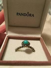 December Pandora ring