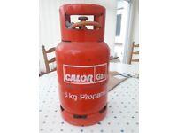Propane 6kg Gas Bottle c/w Hose & Regulator