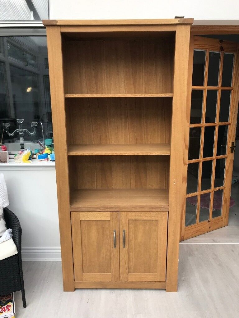 Real Oak Book Shelf from Next  Great Condition  £125  Free delivery in  Glasgow  | in Southside, Glasgow | Gumtree