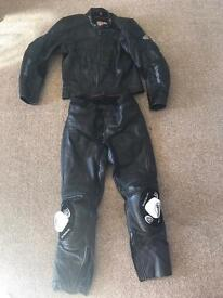 Motorcycle leathers 2piece (HeinGericke pro sports)