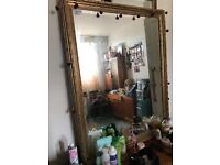 29inches x 39inches original unmarked wall mirror