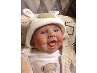 "Reborn Baby Doll "" Harry "" Realistic Newborn Lifelike"