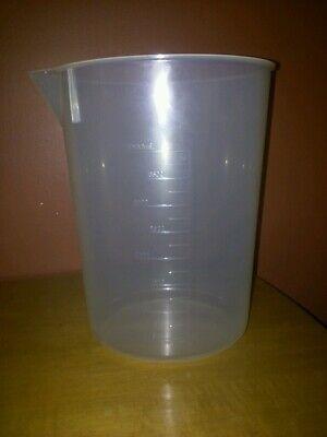 New Quantity 1 - 4000ml 4l Polypropylene Graduated Beaker Made In Usa