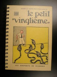 Sueprbe-Grand-agenda-1996-Le-petit-vingtieme-Tintin-ETAT-NEUF-Herge-Tim-Kuifje