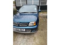 Nissan Micra automatic 1. Ltr