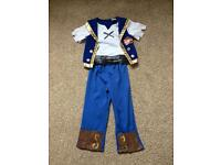 Jake and the never land pirates outfit 3-4 years