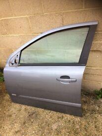 Astra h 2008 5 door complete front passenger door silver lightning z163 07594145438