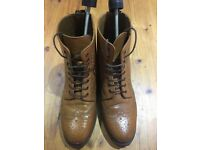 Mens Quality Leather Brogue boots 9. Mens Leather Cowboy/Western Buckle boots. 9.