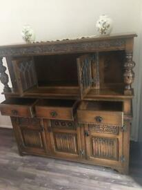 Antique Wood cabinets