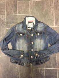 Girls next denim jacket age 11-12 years