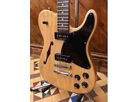 Fender JA-90 'Jim Adkins' Signature Thinline Telecaster Guitar - Natural - Mint!