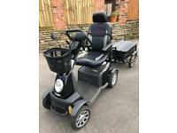 GALAXY PLUS ALL TERRAIN WITH TRAILER MOBILITY SCOOTER