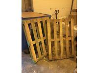 x2 Large Wooden Pallets