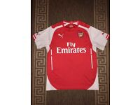 Genuine Puma Arsenal Home Top T-Shirt Football Size M