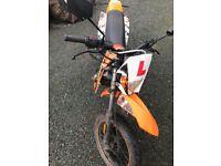 AJS STM 50cc geared motorbike