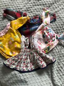 Small baby girl bundle 0-3