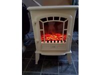 cream electric stove