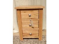 Lansdown Oak Bedside Cabinet