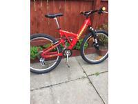 Cannondale super V400 retro mountain bike