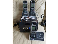 BT 6500, Trio phones. with answer machine.