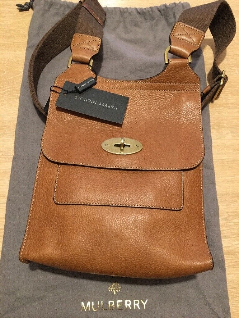 4a61986e6e Genuine Mulberry Antony Bag in Oak Leather