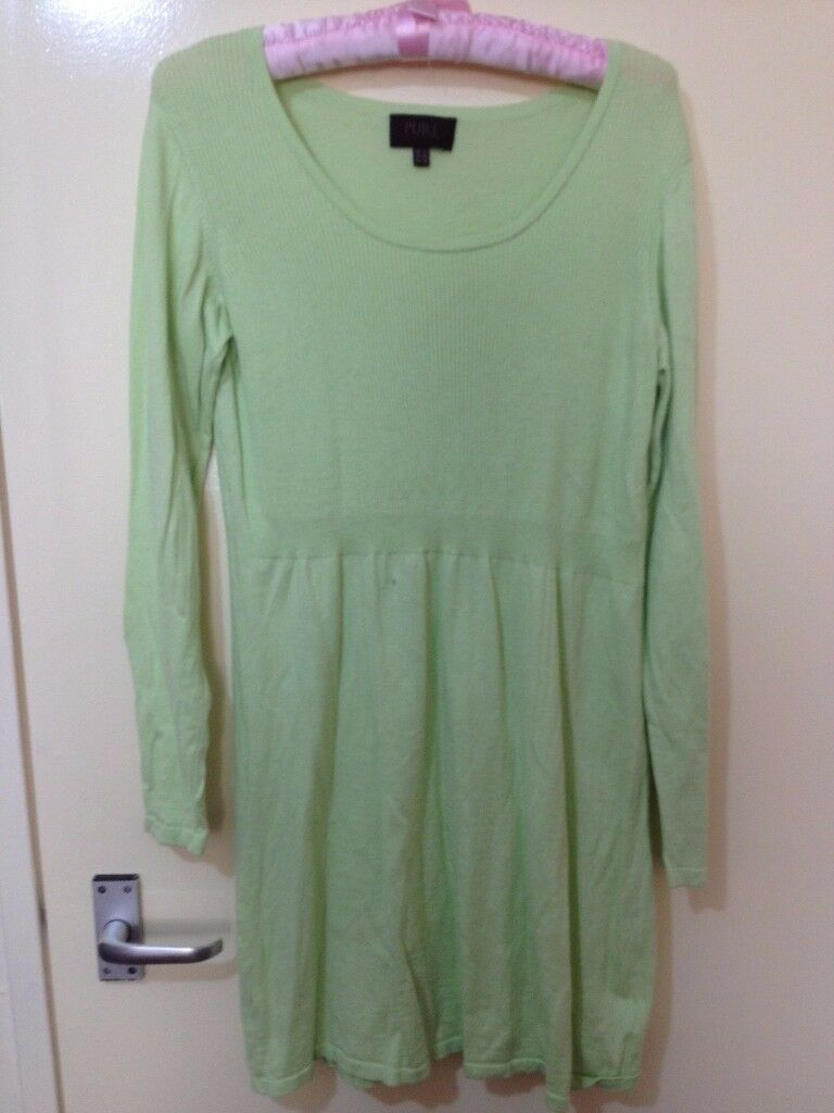very beautiful green PURE long jumper in very good condition only £20