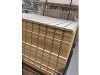 Brand new slatted panels Pewter,pinot white, Rustic Oak 1200mm x 1000mm 1/2 groove at bottom
