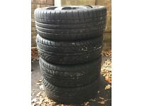 205/40/17 used tyres, set of 4 **Mint Condition**