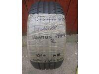 195/50/15 82H Hankook Ventus Prime 2 tyre with 6-7-6 tread remaining