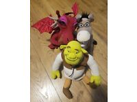 Shrek 2 official plush toys....