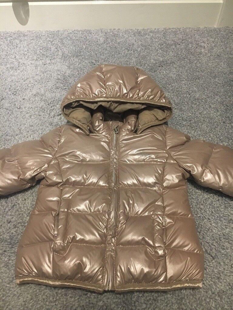 Baby girls DKNY coat