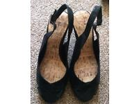 Brand New open toed wedge size 6