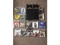 Big PS3 console games and 2 controllers bundle