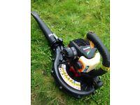 petrol leaf blower excellent condition