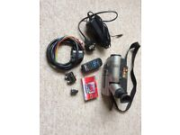 Canon UCV20 Hi8 Camcorder, spare battery,case,casettes and all leads. Excellent condition.