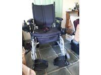 Cirrus Folding Electric Power Wheelchair