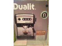 Dualit 84516 Espress-Auto 4-in-1 Coffee and Tea Machine, Black