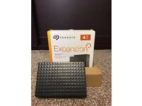 Seagate Expansion 2tb external HDD USB 3.0 boxed, as new