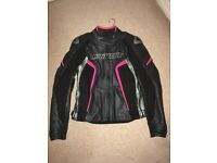 Dainese D1 Racing Ladies Leather Jacket