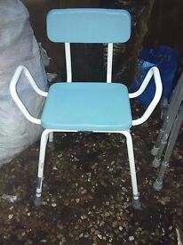 Disability shower chair