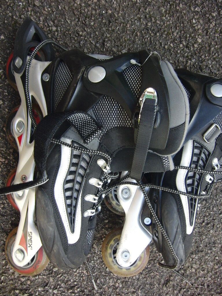Roller blades - 3 pairs of adults in-line skates, barely worn