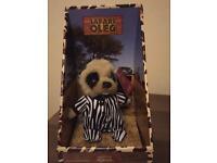 Limited Edition Meerkat Baby Oleg Safari Toy