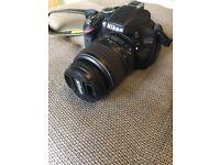 Nikon D3200 SLR Camera MINT CONDITION