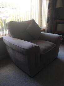 Beautiful Armchair & Footstool