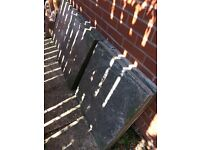 Sold -Large garden slabs free 5 available