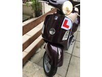 Vespa gt 125 facelift vgc low miles HPI clear