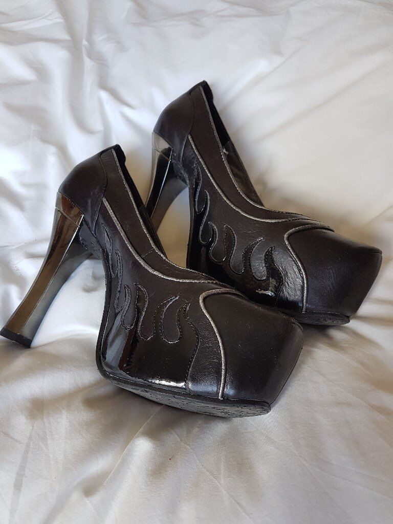 New Rock High Heel Platform Shoe Size 7