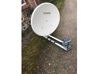 Tooway internet broadband satellite.