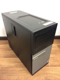 Computer PC Desktop Tower (Intel i7 2600 3.4GHz, 8GB RAM, 500GB Hard Drive)