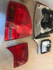 Audi B7 a4 rs4 s4 saloon original hella audi rear lights